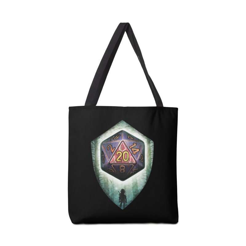 Majora's D20 Accessories Tote Bag Bag by maratusfunk's Shop
