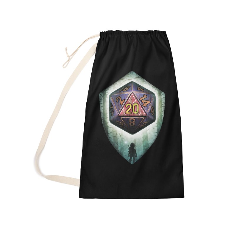 Majora's D20 Accessories Laundry Bag Bag by maratusfunk's Shop