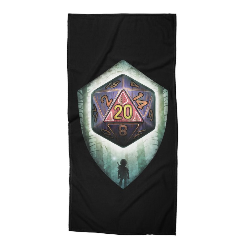 Majora's D20 Accessories Beach Towel by maratusfunk's Shop