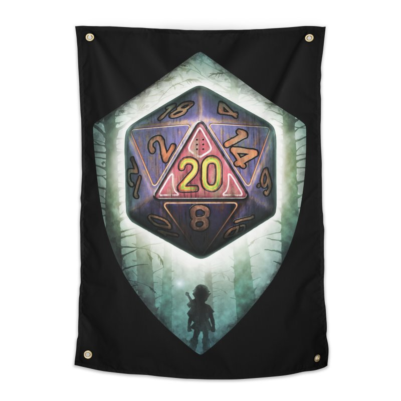 Majora's D20 Home Tapestry by maratusfunk's Shop