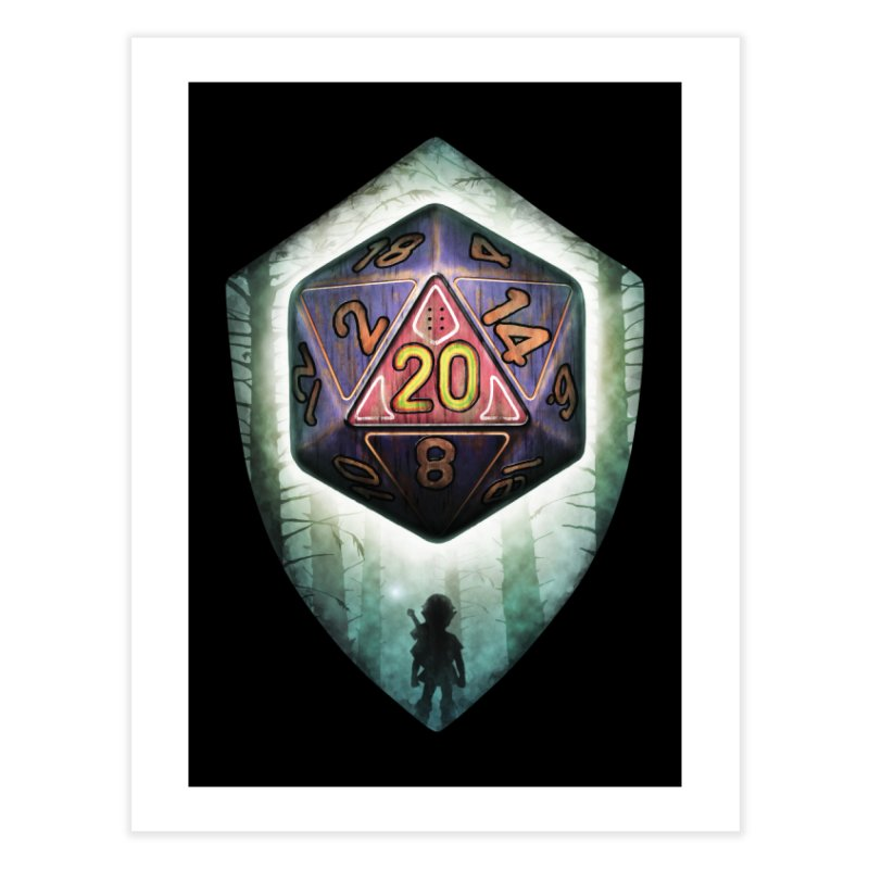 Majora's D20 Home Fine Art Print by maratusfunk's Shop