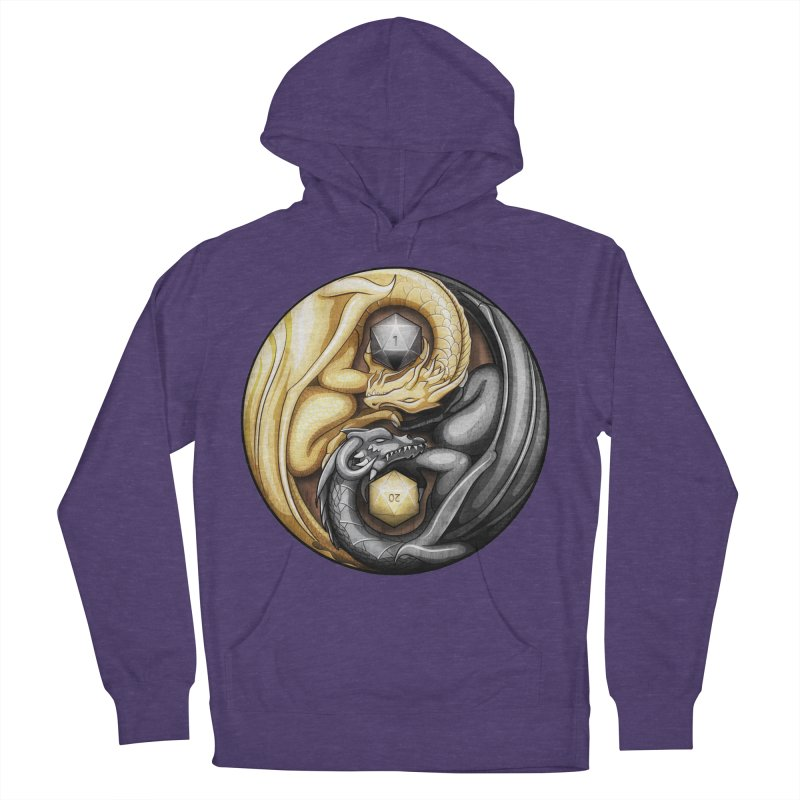 Balanced Dragons D20 Men's French Terry Pullover Hoody by maratusfunk's Shop
