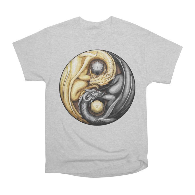 Balanced Dragons D20 Men's T-Shirt by maratusfunk's Shop
