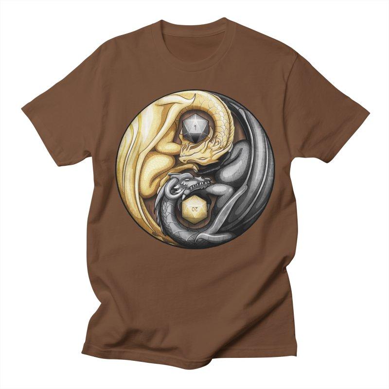 Balanced Dragons D20 Women's Regular Unisex T-Shirt by maratusfunk's Shop