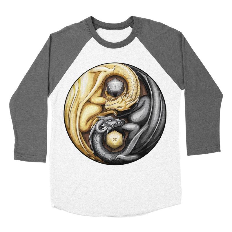 Balanced Dragons D20 Men's Baseball Triblend T-Shirt by maratusfunk's Shop