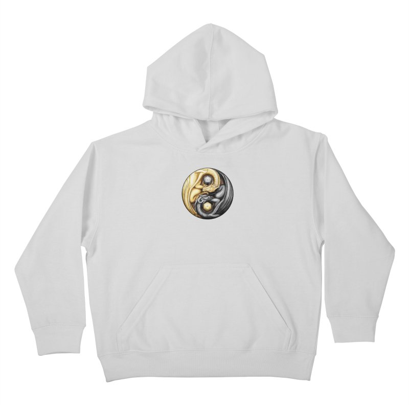 Balanced Dragons D20 Kids Pullover Hoody by maratusfunk's Shop
