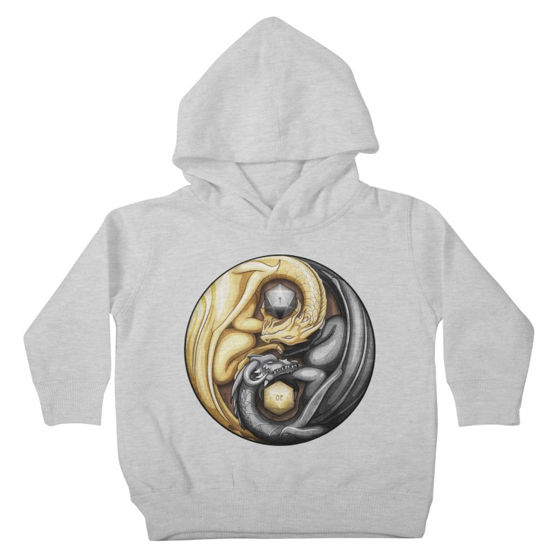 Balanced Dragons D20 Kids Toddler Pullover Hoody by maratusfunk's Shop