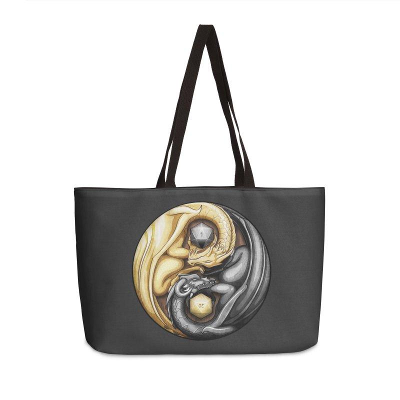 Balanced Dragons D20 Accessories Weekender Bag Bag by maratusfunk's Shop