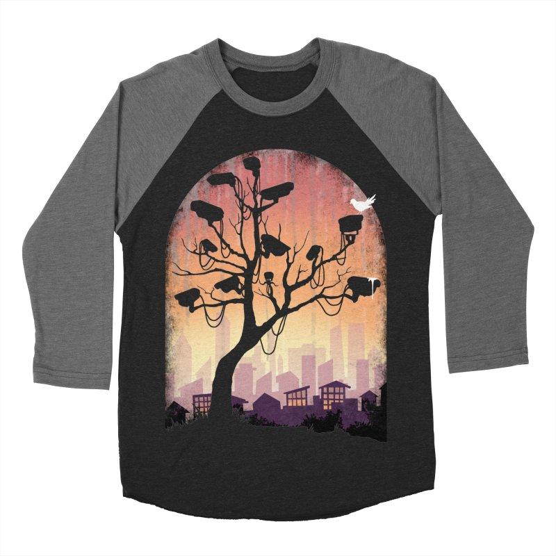 Securitree Men's Baseball Triblend Longsleeve T-Shirt by maratusfunk's Shop