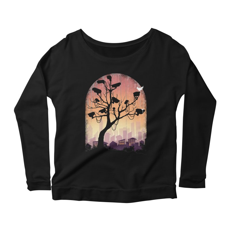 Securitree Women's Longsleeve Scoopneck  by maratusfunk's Shop