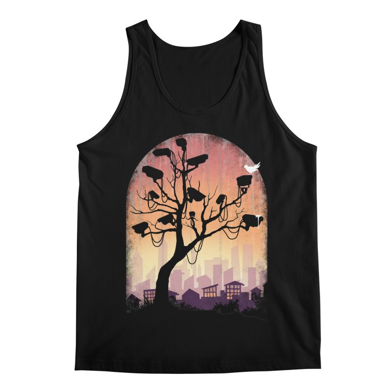Securitree Men's Regular Tank by maratusfunk's Shop
