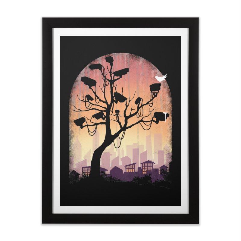 Securitree Home Framed Fine Art Print by maratusfunk's Shop