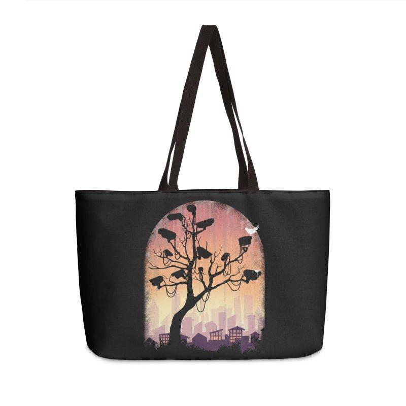 Securitree Accessories Weekender Bag Bag by maratusfunk's Shop