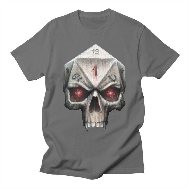 Skull D20 Men's T-Shirt by maratusfunk's Shop