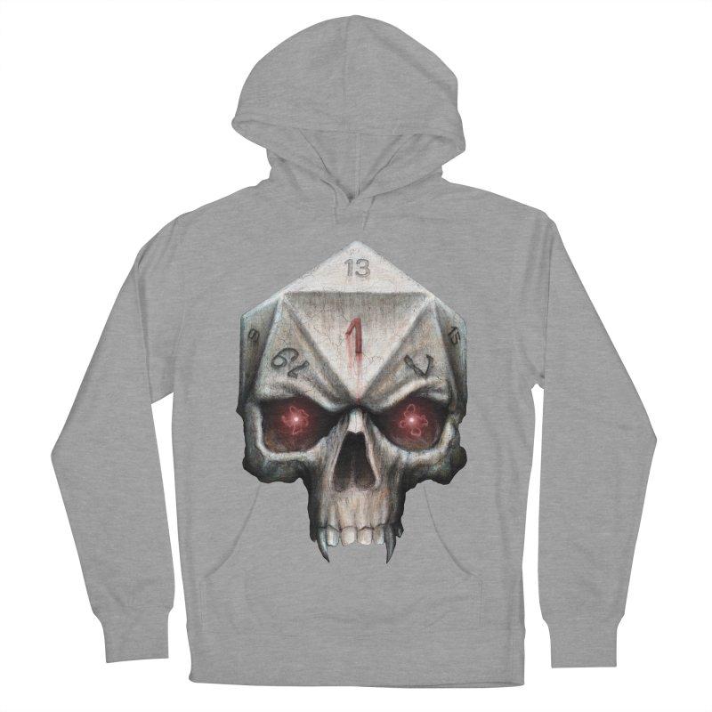 Skull D20 Women's French Terry Pullover Hoody by maratusfunk's Shop