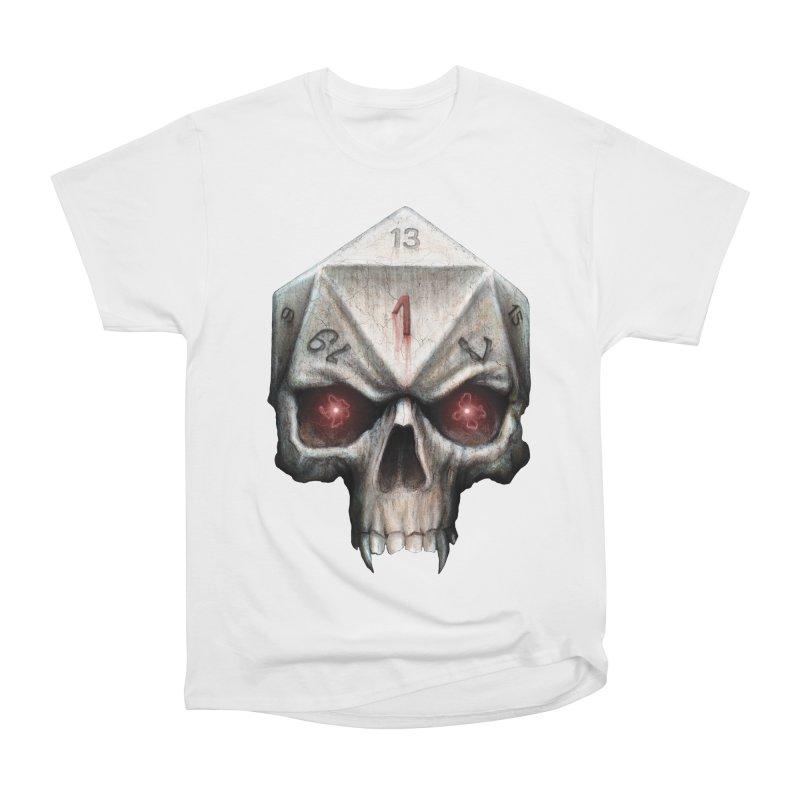Skull D20 Men's Heavyweight T-Shirt by maratusfunk's Shop