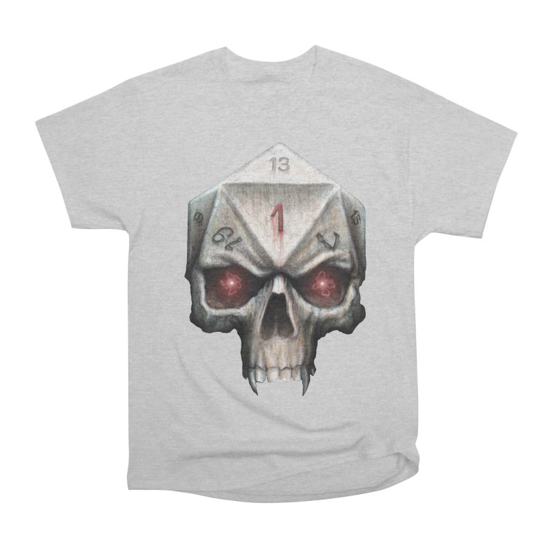 Skull D20 Women's Heavyweight Unisex T-Shirt by maratusfunk's Shop