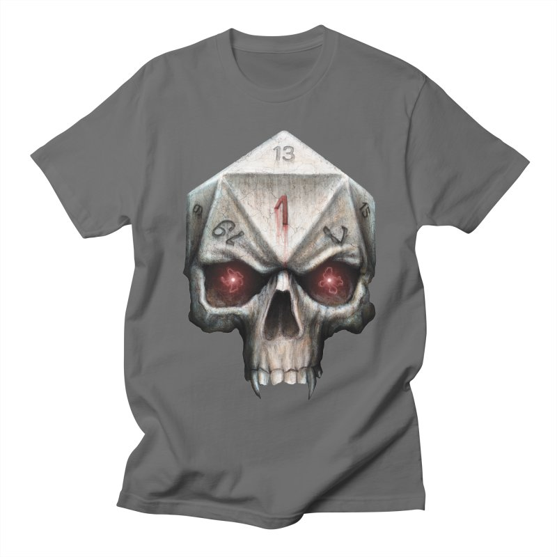 Skull D20 Men's T-Shirt by maratusfunk's Shop