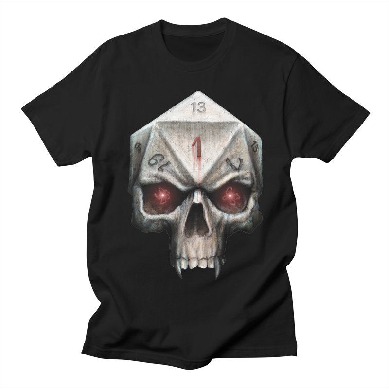 Skull D20 Men's Regular T-Shirt by maratusfunk's Shop