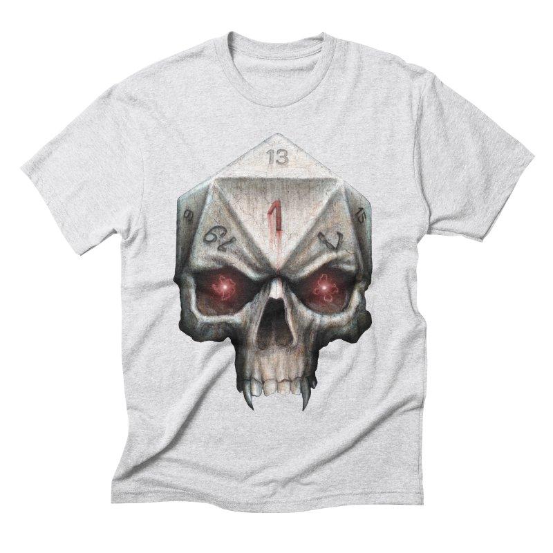 Skull D20 Men's Triblend T-Shirt by maratusfunk's Shop