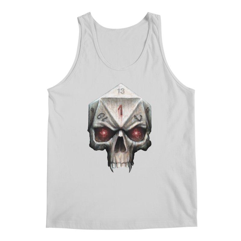 Skull D20 Men's Tank by maratusfunk's Shop