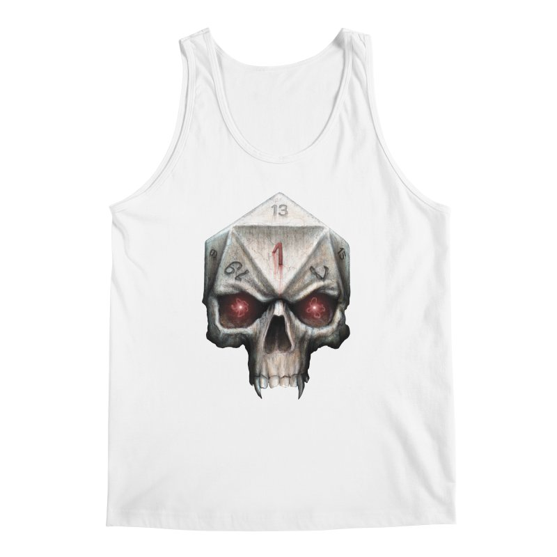 Skull D20 Men's Regular Tank by maratusfunk's Shop