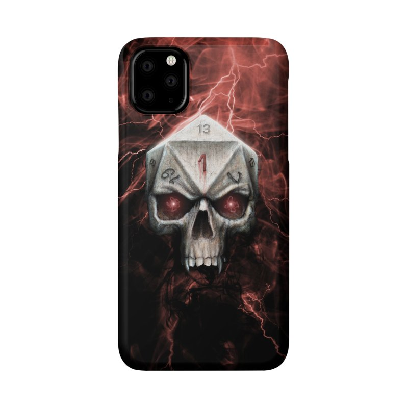 Skull D20 Accessories Phone Case by maratusfunk's Shop