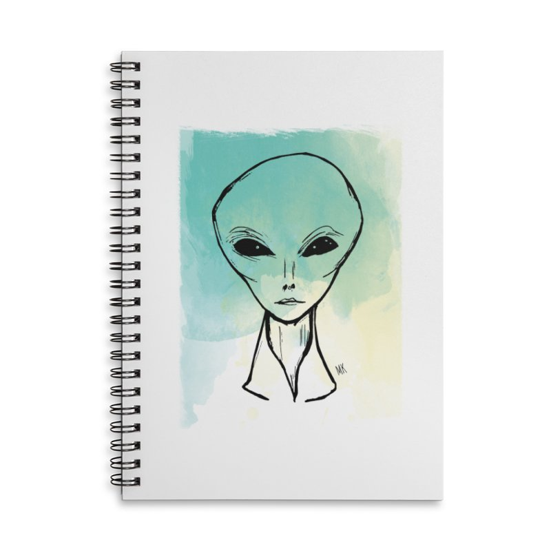 Arcturian Lover Accessories Notebook by marcellakroll's Artist Shop