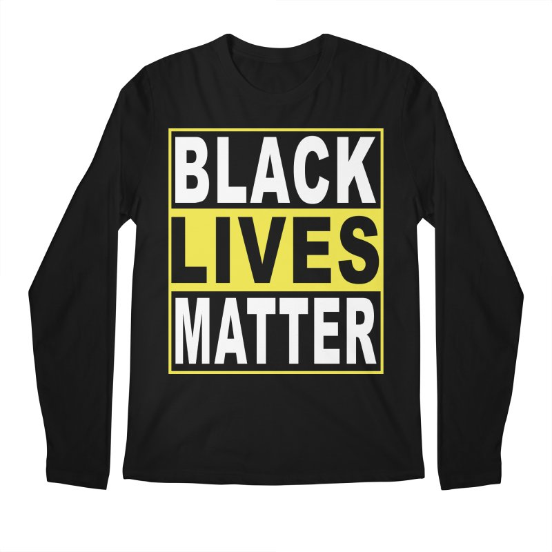 Black Lives Matter - Yellow Men's Longsleeve T-Shirt by Black Liberation
