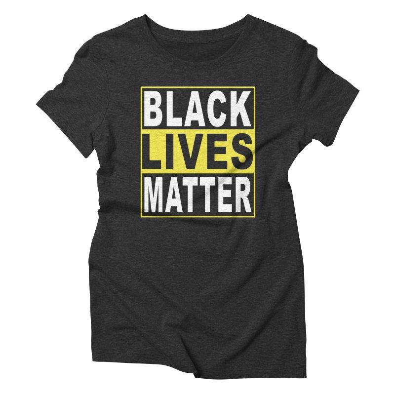 Black Lives Matter - Yellow Women's Triblend T-shirt by Black Liberation