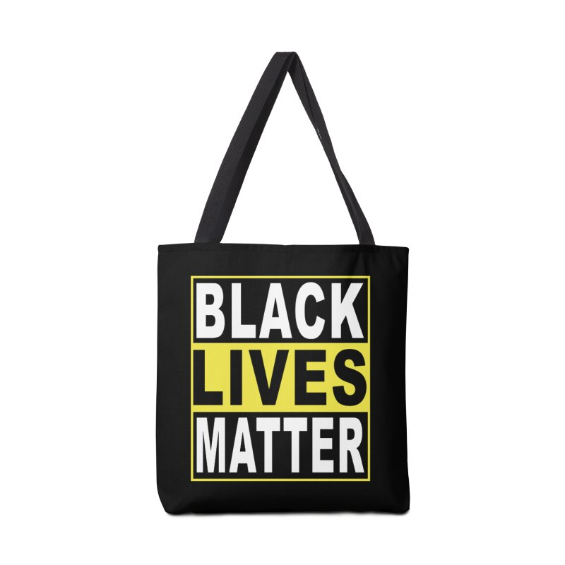 Black Lives Matter - Yellow Accessories Bag by Black Liberation