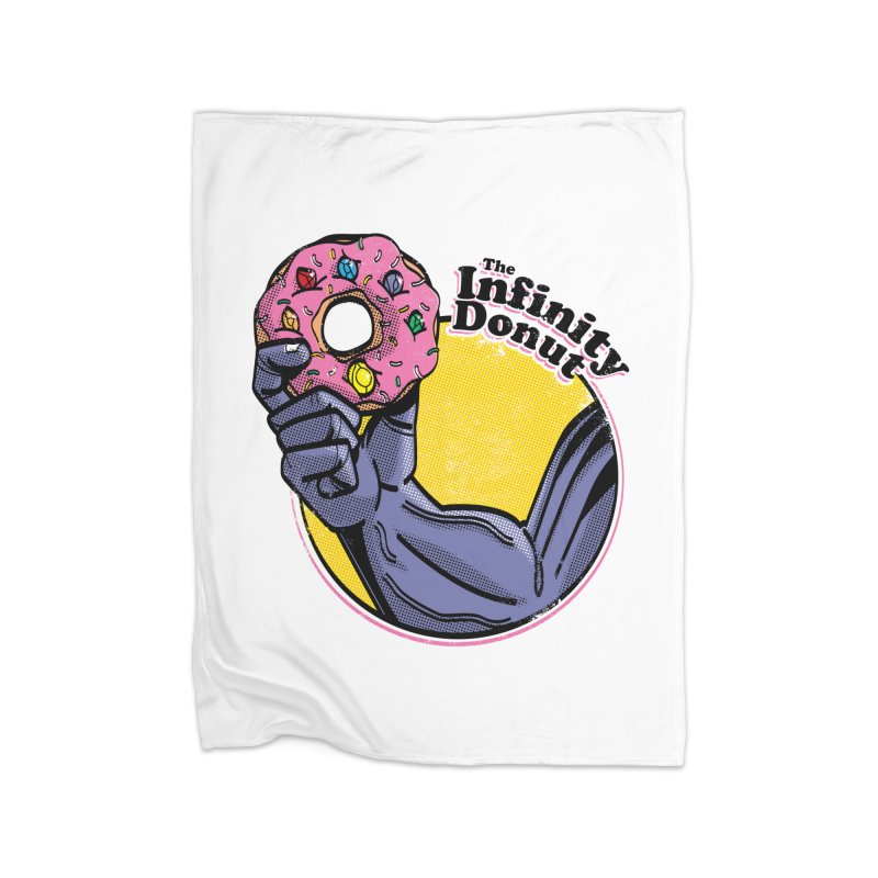 The Infinity Donut Home Fleece Blanket Blanket by marcelocamacho's Artist Shop