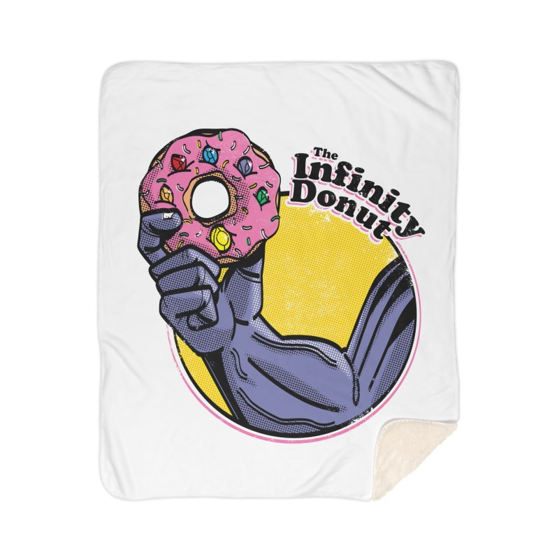 The Infinity Donut Home Sherpa Blanket Blanket by marcelocamacho's Artist Shop