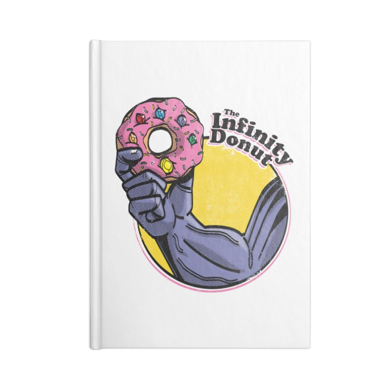 The Infinity Donut Accessories Blank Journal Notebook by marcelocamacho's Artist Shop