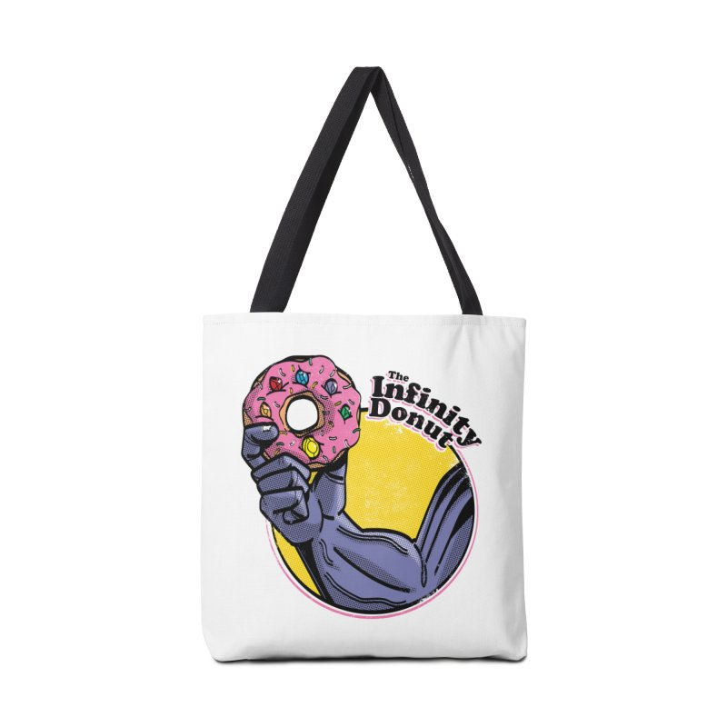 The Infinity Donut Accessories Tote Bag Bag by marcelocamacho's Artist Shop