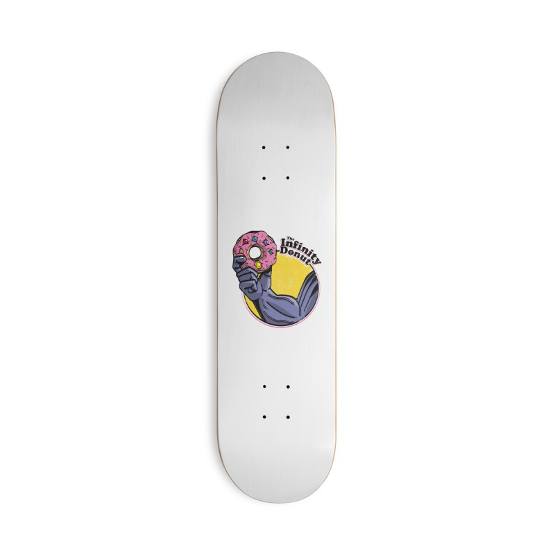 The Infinity Donut Accessories Deck Only Skateboard by marcelocamacho's Artist Shop