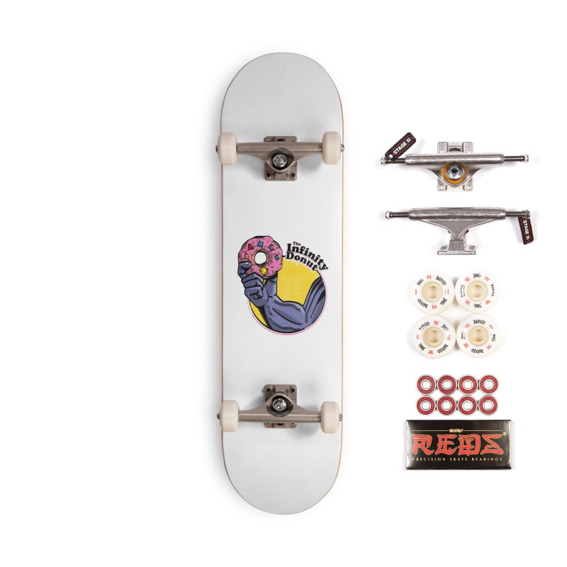 The Infinity Donut Accessories Complete - Pro Skateboard by marcelocamacho's Artist Shop