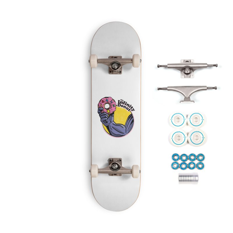 The Infinity Donut Accessories Complete - Basic Skateboard by marcelocamacho's Artist Shop