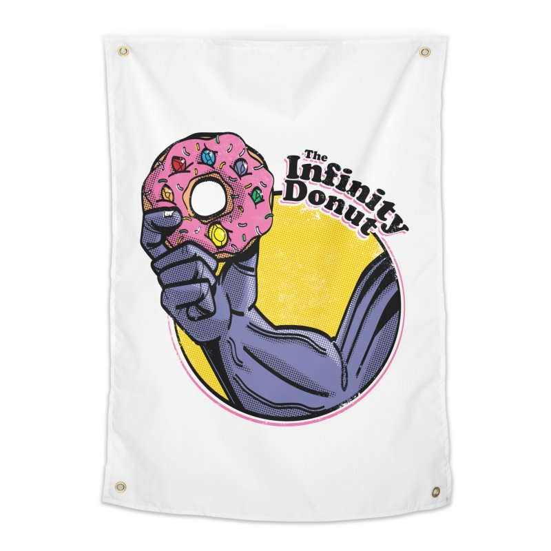 The Infinity Donut Home Tapestry by marcelocamacho's Artist Shop