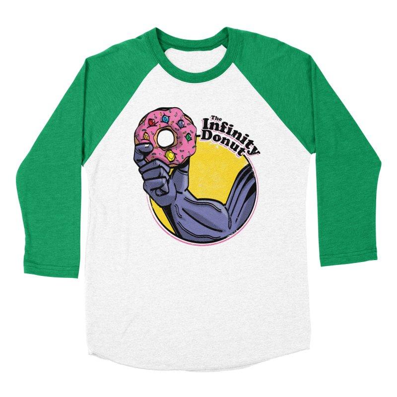 The Infinity Donut Women's Baseball Triblend Longsleeve T-Shirt by marcelocamacho's Artist Shop