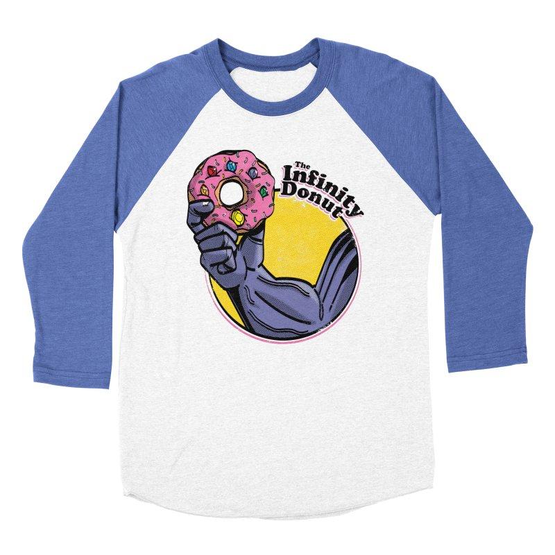 The Infinity Donut Men's Baseball Triblend Longsleeve T-Shirt by marcelocamacho's Artist Shop