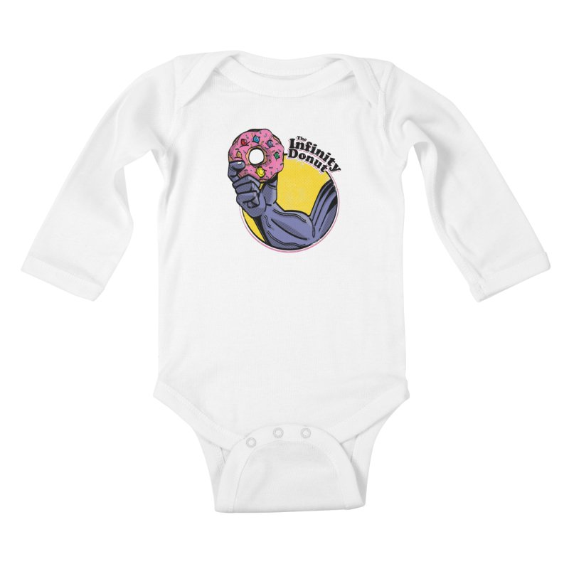 The Infinity Donut Kids Baby Longsleeve Bodysuit by marcelocamacho's Artist Shop