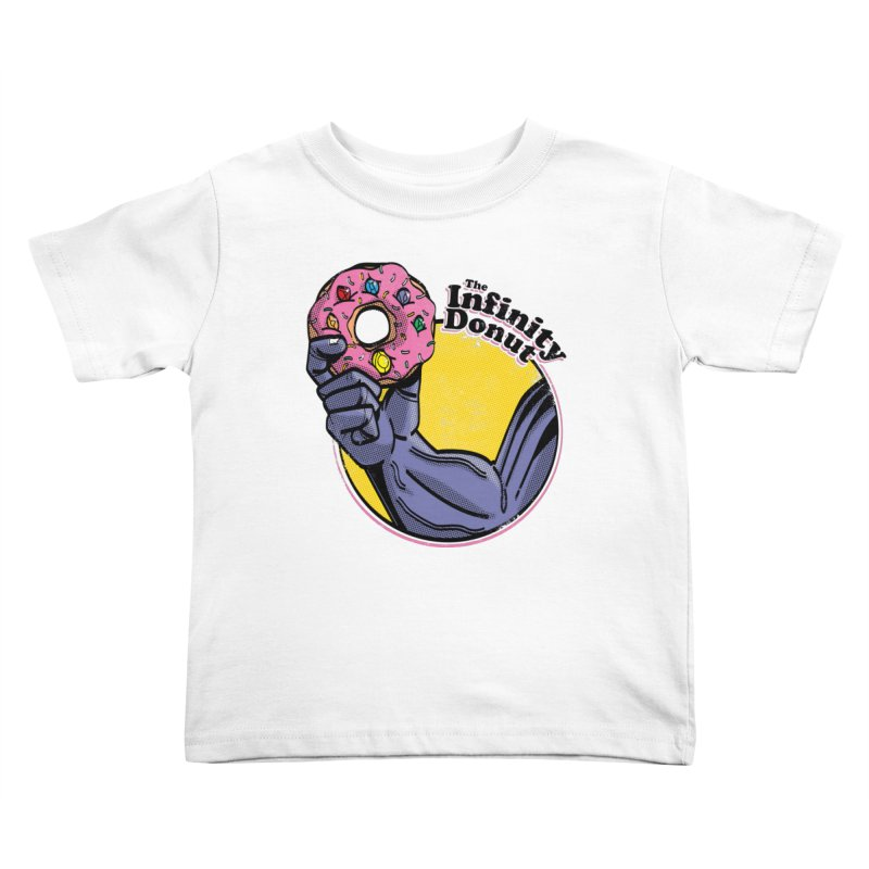 The Infinity Donut Kids Toddler T-Shirt by marcelocamacho's Artist Shop