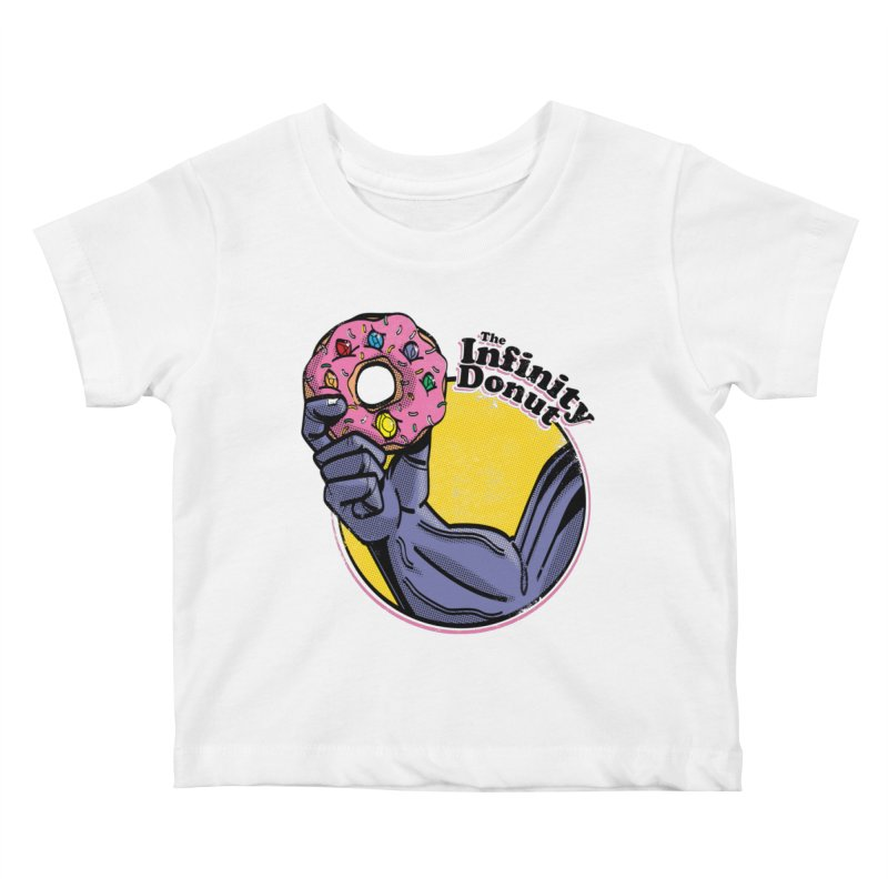 The Infinity Donut Kids Baby T-Shirt by marcelocamacho's Artist Shop