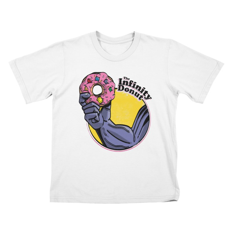 The Infinity Donut Kids T-Shirt by marcelocamacho's Artist Shop