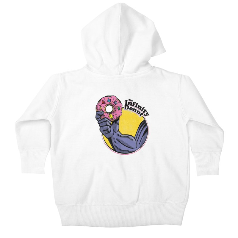 The Infinity Donut Kids Baby Zip-Up Hoody by marcelocamacho's Artist Shop