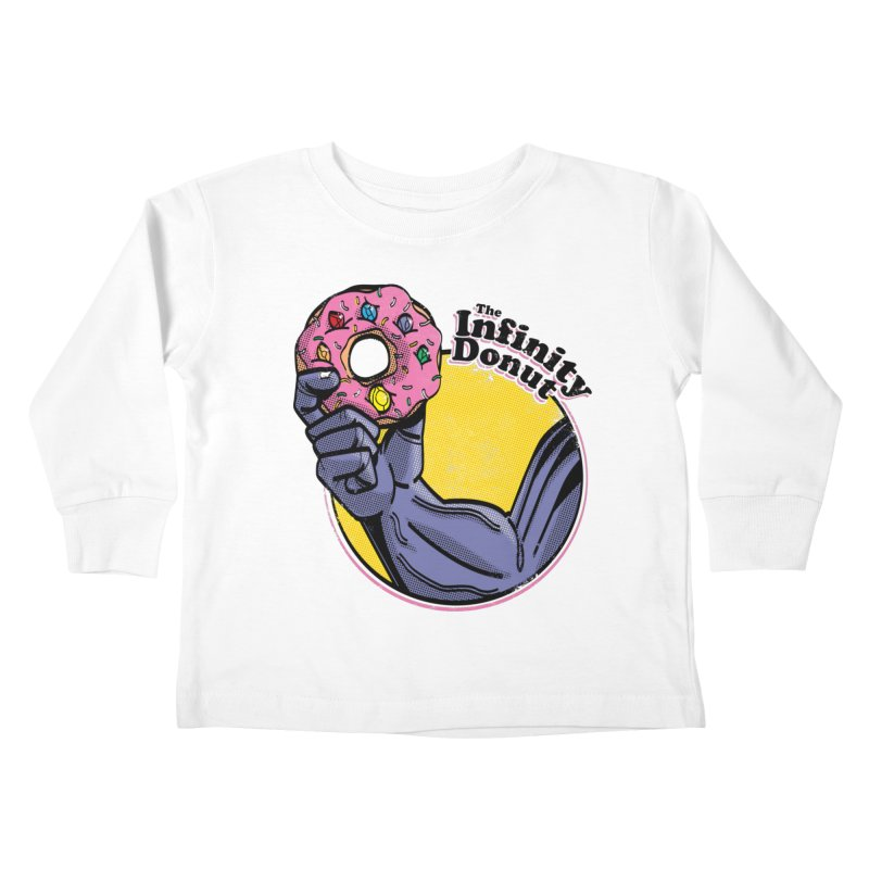 The Infinity Donut Kids Toddler Longsleeve T-Shirt by marcelocamacho's Artist Shop