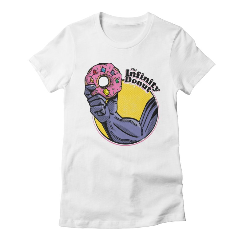 The Infinity Donut Women's Fitted T-Shirt by marcelocamacho's Artist Shop