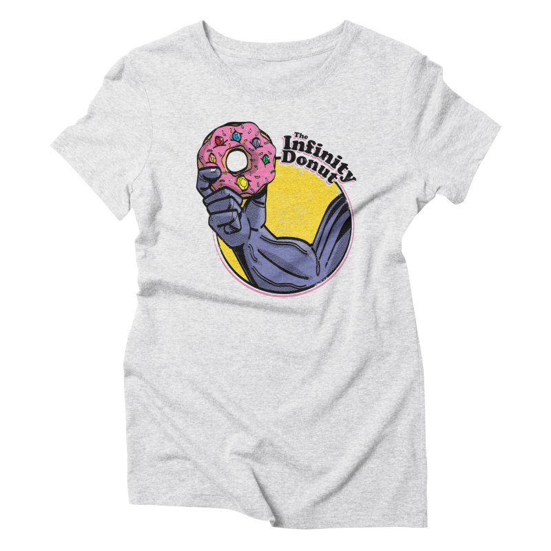 The Infinity Donut Women's Triblend T-Shirt by marcelocamacho's Artist Shop