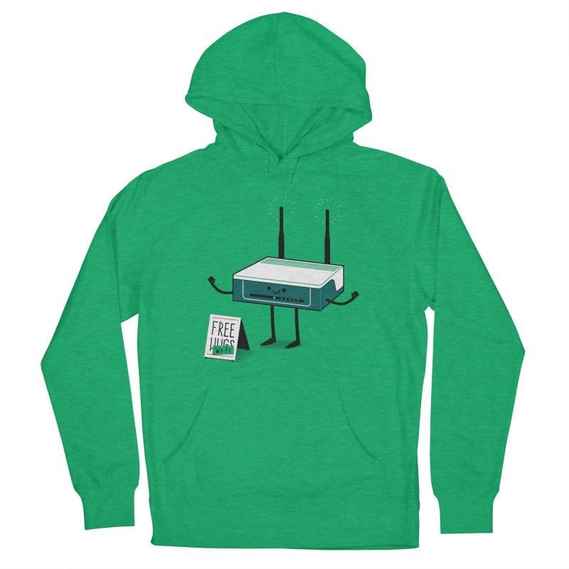 Free Wi-fi Women's Pullover Hoody by marcelocamacho's Artist Shop